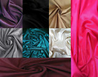 RAW SILK PLAIN MATERIAL FABRIC BY THE METER FOR CLOTHES SCARVES LINING CURTAINS