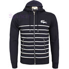 LACOSTE MEN'S FULL ZIP HOODED JUMPER/HOODIE SH3031 Size 3/4/5/6 NEW Was £155