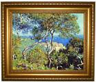 Monet Bordighera Framed Canvas Print Repro 16x20