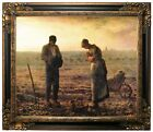 Millet Angelus bell Framed Canvas Print Repro 20x24