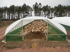 18ft - 30ft Wide Polytunnel Sheep House | Livestock House | Farm Equipment Barn <br/> Manufactured by Northern Polytunnels | STRONGEST TODAY