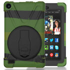 Heavy Duty Shock Proof Rubber Hard Case Stand Cover For Amazon Kindle Fire 7/HD8
