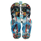 Flip Flops Beach Sandal Thomas Tank Train Engine Blue Toddler Child Size 5/6 New