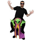 ALIEN LORD PICK ME UP PLUS GLASSES HALLOWEEN COSTUME FUNNY FANCY DRESS RIDE ON
