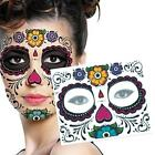 Face Mask SKULL TATTOO Beauty Makeup Halloween Party Gift Convenient Hot ED