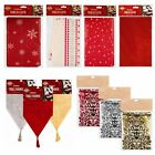 Christmas Tablecloth Cover Runner Polyester Table Decoration Xmas Wedding Party