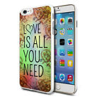 Love Is All You Design Hard Back Case Cover Skin For Various Phones