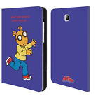 OFFICIAL ARTHUR CHARACTERS LEATHER BOOK WALLET CASE FOR SAMSUNG GALAXY TABLETS