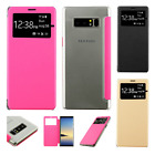 For Samsung Galaxy Note 8 Premium Side Flip Protector Phone Case Cover Accessory
