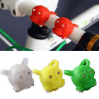 Silicone Bike Bicycle Skull Frog Light Wheel Warning Portable Colorful