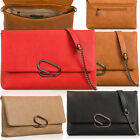 Medium Slouch Soft Faux Leather Clutch Bag Flap Over Women Evening Mini Handbags