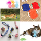 Dog Cat Chew Rope Toys Set Dog Toys Puppy Cotton Teeth Cleaning Toys & Training