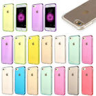 Shockproof Ultra Thin Clear Silicone Soft TPU Case Cover For iPhone 8 7 6 Plus 5