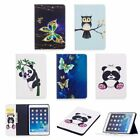 Pattern Flip Leather Smart Wallet Card Slot Stand Case Skin For  iPad mini 2 3