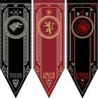 Game of Thrones House Targaryen Sigil Banner Dragon Flag Poster Wall Home LJ