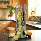 Revolving Rotating 24/32 Capsule Dolce Gusto Coffee Pod Holder Tower Stand Rack