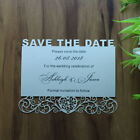 30pc Free Personalized printed heart Wedding Save the Date Cards,Wish well cards
