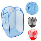 Внешний вид - 1X Large Folable Laundry Basket Mesh Hamper Washing Clothes Bag Bin Colors B3471