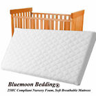 Baby Toddler Cot Bed Breathable QUILTED ...