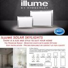 LED Skylights Solar Powered Illume Premium Range Advanced System All Sizes
