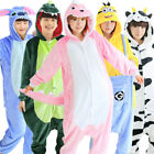 Women Unisex Adult Pajamas Unicorn Kigurumi Cosplay Costume Animal Sleepwear