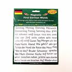 Learn French or German Magnetic Tiles First Words Language Training