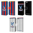 CRYSTAL PALACE FC 2017/18 PLAYERS KIT LEATHER BOOK CASE FOR APPLE iPHONE PHONES