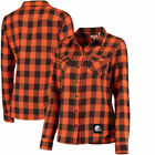 Cleveland Browns Levi's 16 Women's Barstow Western  Shirt Shirt - Brown