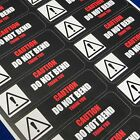 Caution Do Not Bend Thank You - R - Packing Shipping Handling Label Stickers