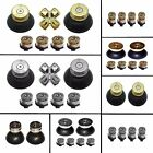 Replacement Bullet ABXY Buttons,Thumbs & Solid Thumbs for PS4 Controller Shell