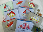 Handmade Personalised Boys Purse Wallet, Choice of designs & name Party Bag Gift