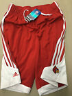LOUISVILLE CARDINALS ADIDAS MENS GAME SHORTS WITH POCKETS ME
