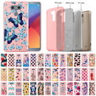 For LG G6 H870/ G6+ Plus US997 Shiny Light Pink Glitter Clear TPU Cover Case