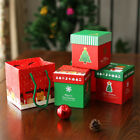 Christmas Eve Apple Packing Gift Box Holiday Festival Favour Present Candy Boxes