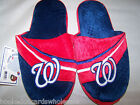 2013 Washington Nationals MLB Big Logo Slide Stripe Mens Slippers