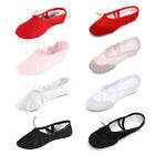 Внешний вид - Women Child Girls Exercise Ballet Dance Shoes Gymnastics Practice Ballet Shoes