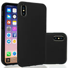 Full Matte Soft Touch Slim-Fit Flexible TPU Case for iPhone 7 8 6s Plus Samsung