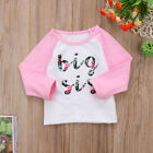 Big/Little Sister Matching Top T-shirt Newborn Baby Girl Romper Bodysuit Outfits <br/> ❤BRAND NEW STYLE❤SISTER MATCHING ❤FAST &amp; FREE❤