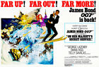 On Her Majesty's Secret Service - James Bond - 1969 - Movie Poster £26.26 GBP on eBay