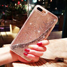 Slim Bling Dynamic Glitter Liquid Quicksand Case Cover for iPhone 6s 7 8 8 Plus
