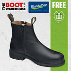 Blundstone Work Boots 783 Slip-On, Steel Toe Safety, Executive Dress Boots.