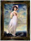 Lawrence Pinkie Wood Framed Canvas Print Repro 19x28