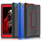 For Amazon Kindle Fire HD 8 /Fire 7 7th Gen Case Shockproof Rubber Stand Cover