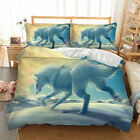 Dragon Doona Duvet Quilt Covers Set Queen King Size Animal Pillow Cases Set New