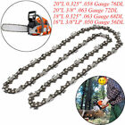 "Chainsaw Chain Blade Replacement for Husqvarna 16""/18""/20"" inch 57 Links 4 Sizes"