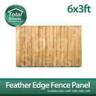 6ft x 3ft FEATHEREDGE CLOSEBOARD PANELS ***PACK OF 10***