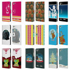 HEAD CASE DESIGNS MIX CHRISTMAS COLLECTION LEATHER BOOK CASE FOR LENOVO VIBE K5