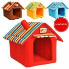 Внешний вид - Pet Bed House For Dog Cat Tent Kennels Soft Winter Nylon Breathable Pets Shelter