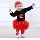 Baby Girls Dress Sets Bodysuits Christening Bell Gown Lace Sets