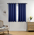Blackout Curtains 2 Panel Pair Window Curtain Draperies Blinds Thermal Insulated
